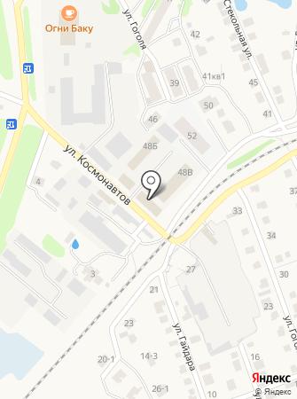 Автомойка на ул. Космонавтов на карте