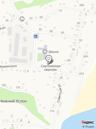 Приход преподобного Сергия Радонежского на карте