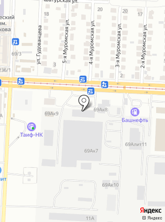АвтоПантера на карте