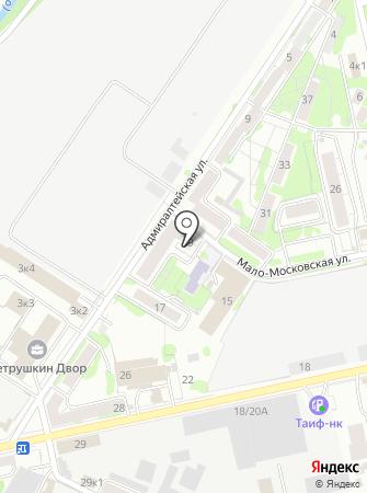 Отдельный пост пожарной части №36 Кировского района на карте