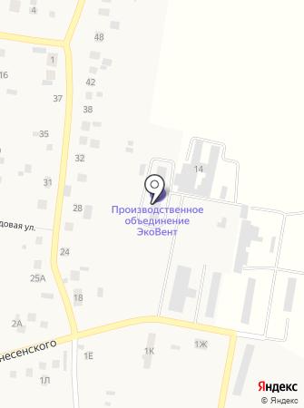 ЭкоВент на карте