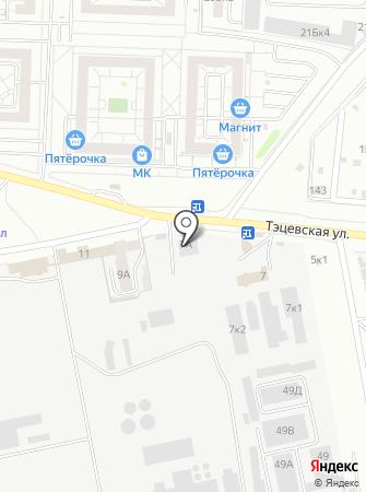 Отдельный пост пожарной части №76 Авиастроительного района на карте