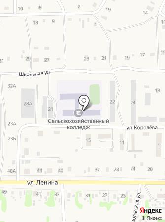 Усольский сельскохозяйственный техникум на карте