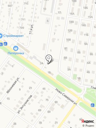Виктория на карте