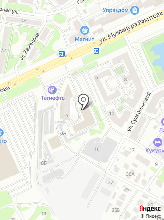 Бизон на карте