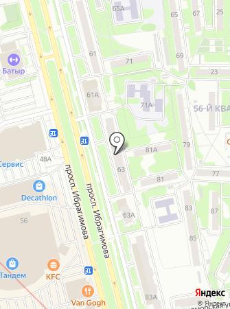 Аслан на карте