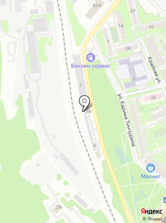 JustStyling на карте