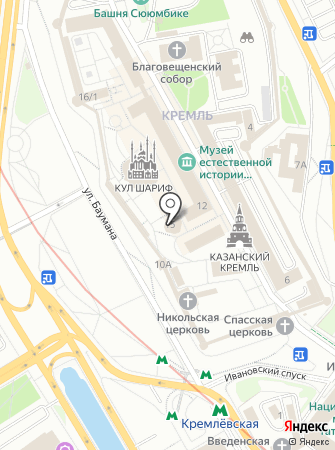 Пожарная часть №68 Вахитовского района на карте