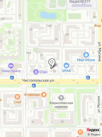 Эвакуатор-Татарстан на карте