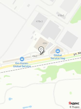 M Service на карте