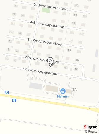 НК на карте