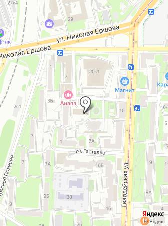 Пожарная часть №6 Советского района на карте