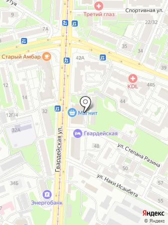 Промоинфо на карте