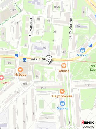 Эвакуатор24 на карте