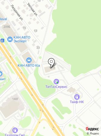 Пожарная часть №10 Приволжского района на карте