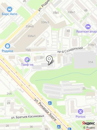 Эксплуатационно-производственное управление, Казаньгоргаз на карте