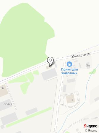 Балтийская Газовая Компания на карте