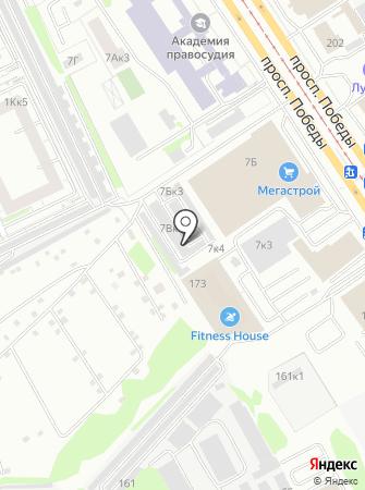 CAReta Сервис на карте