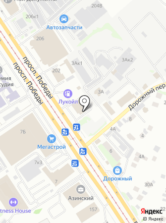 Автостекла Казани на карте