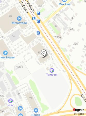 Авто-Друг на карте