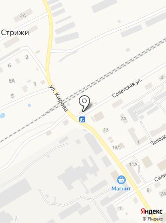 Аленка на карте