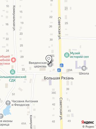 Церковь введения во Храм Пресвятой Богородицы на карте