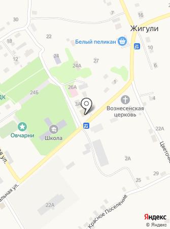 Администрация сельского поселения Жигули на карте