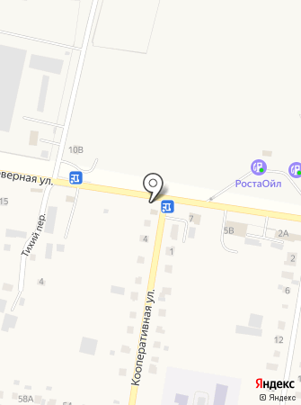 Пункт шиномонтажа на Кооперативной на карте