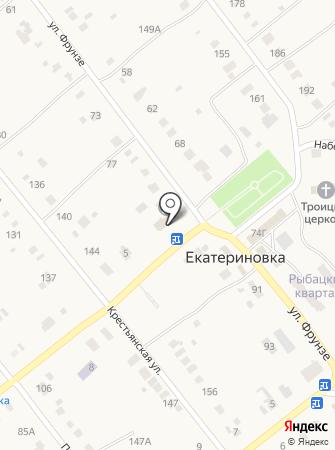 Екатериновское Благоустройство, МБУ на карте