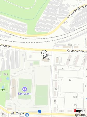 Югория на карте