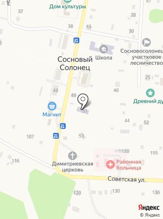 Лесная сказка на карте