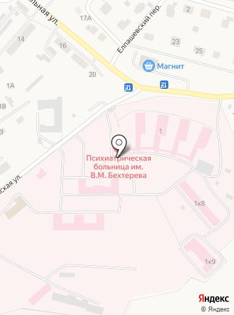 Кировский государственный медицинский университет на карте