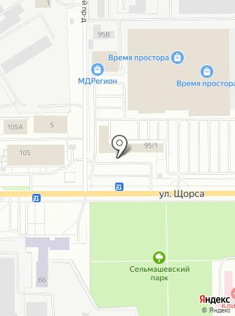 Клин-Сити на карте