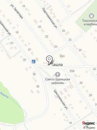 Продуктовый магазин на ул. Залётова на карте