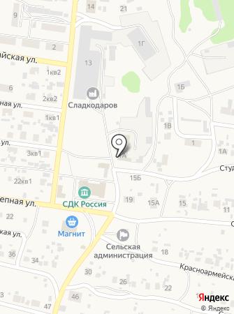 Коммунальник, МУП на карте