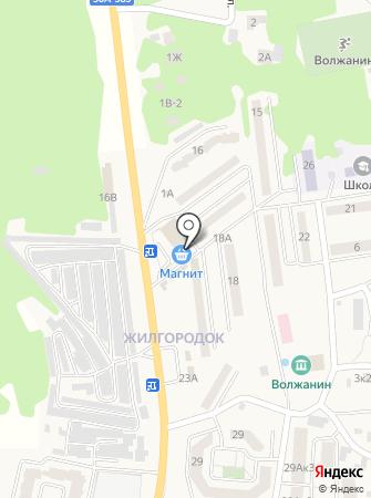 Магазин посуды на карте