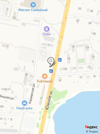 КРОНА на карте