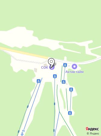 Секция по горнолыжному фитнесу на карте
