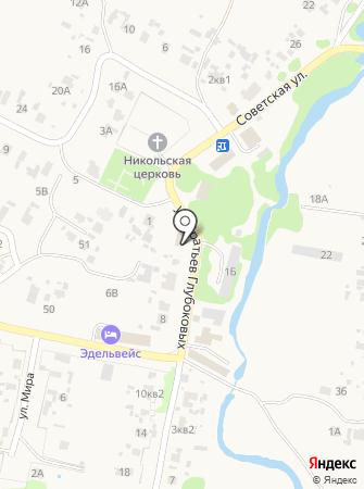 Лопатинское, МБУ на карте
