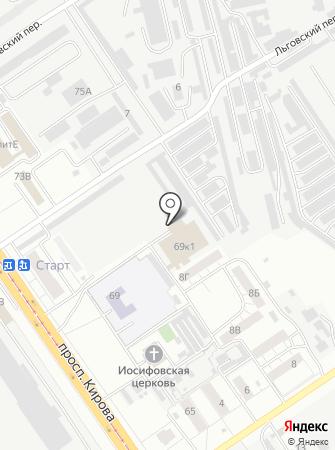 Верда-Самара на карте