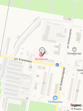 Петра-Дубравская поселковая больница на карте
