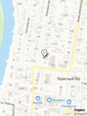 Мировые судьи Красноярского района Самарской области на карте