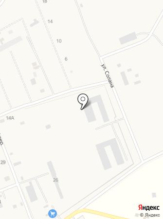Чёрновский Арболит на карте
