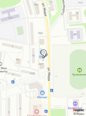 Центр социальной стоматологии на карте