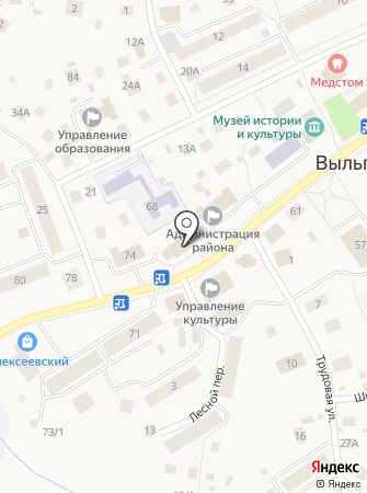 Прокуратура Сыктывдинского района на карте