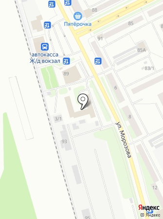 Ворк5 на карте