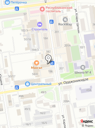 РоНА на карте