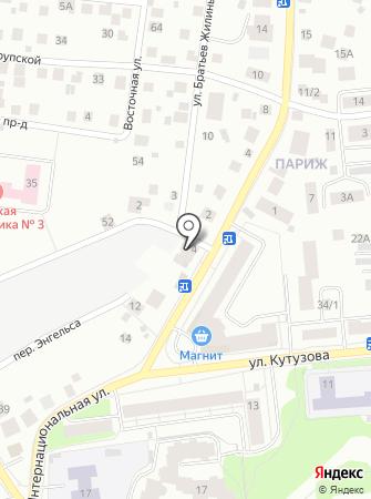 Фирма по аренде мини погрузчика Бобкат на карте