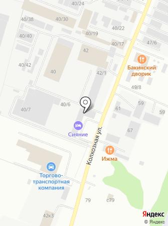 ЭКИПАВТО на карте