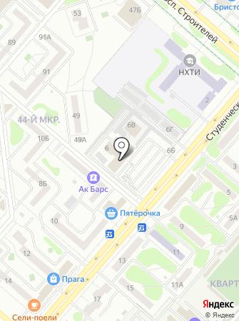 ФИДИ-НК на карте